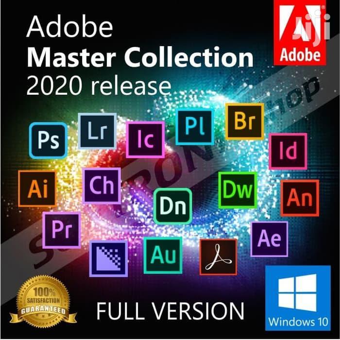 Adobe CC Master Collection 2020