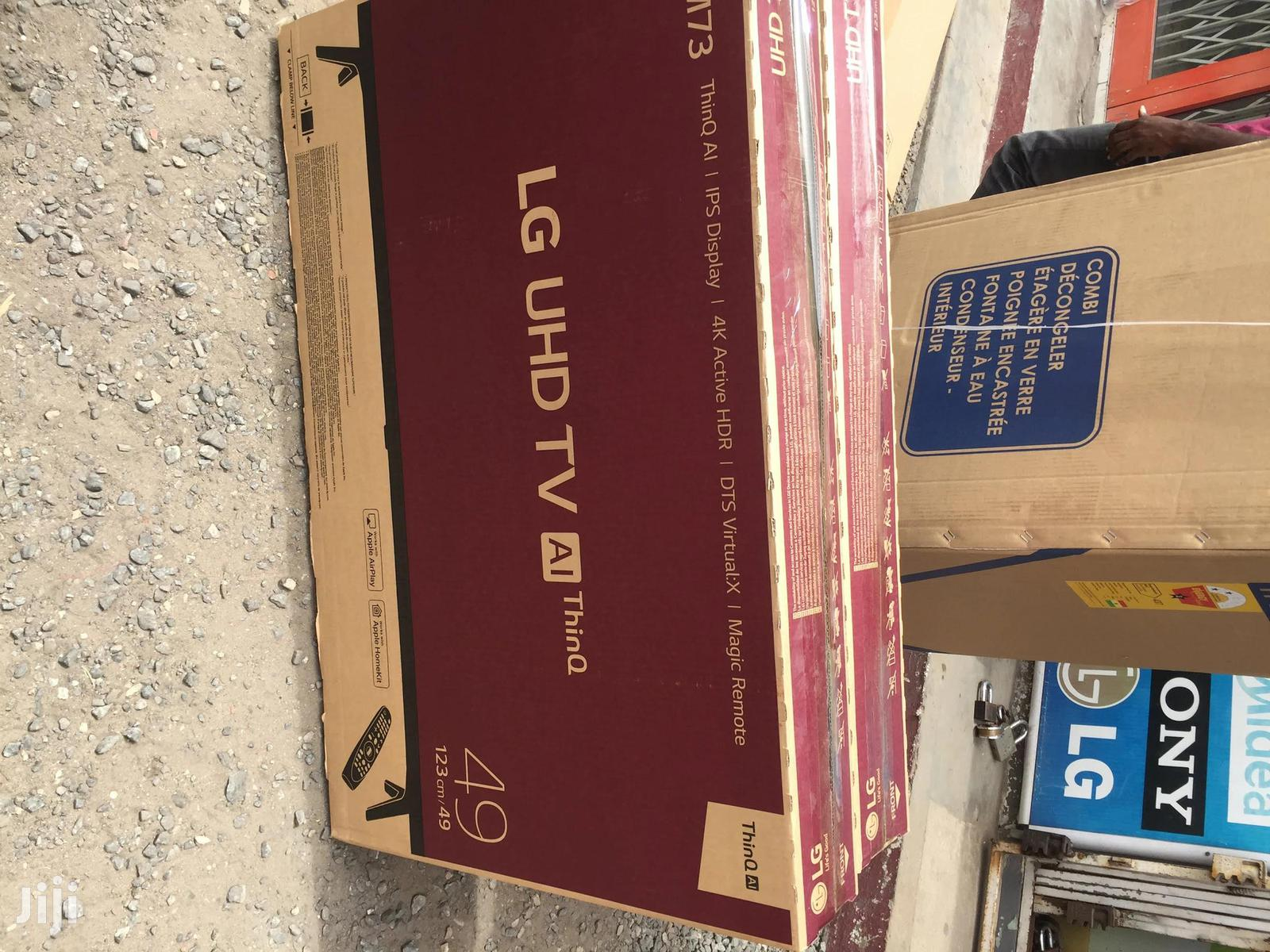 """Enjoy All Latest Movies on LG 49""""Smart 4K UHD Satellite Thinq AI TV 