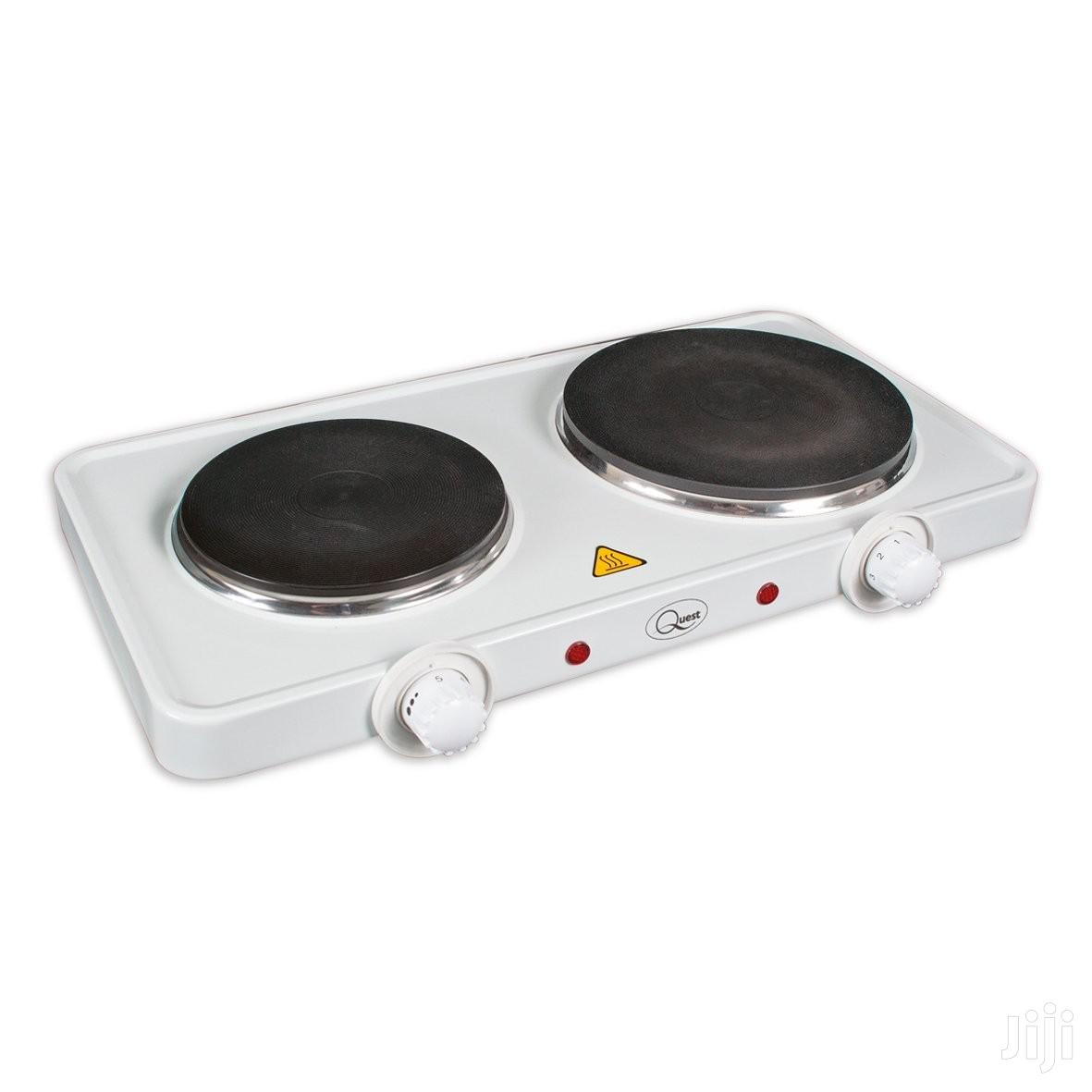 Double Electric Stove