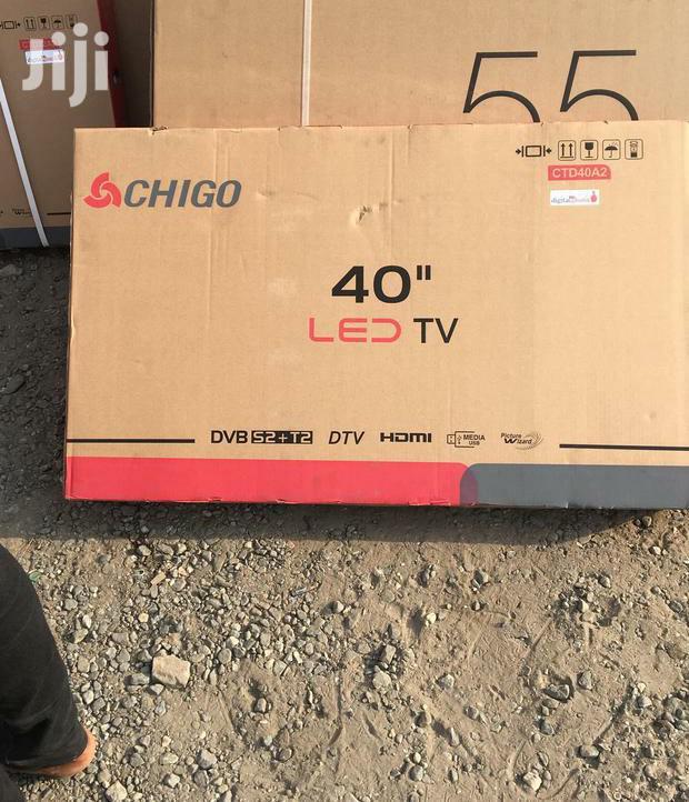 "Chigo 40"" Digital Satellite Led Tv"