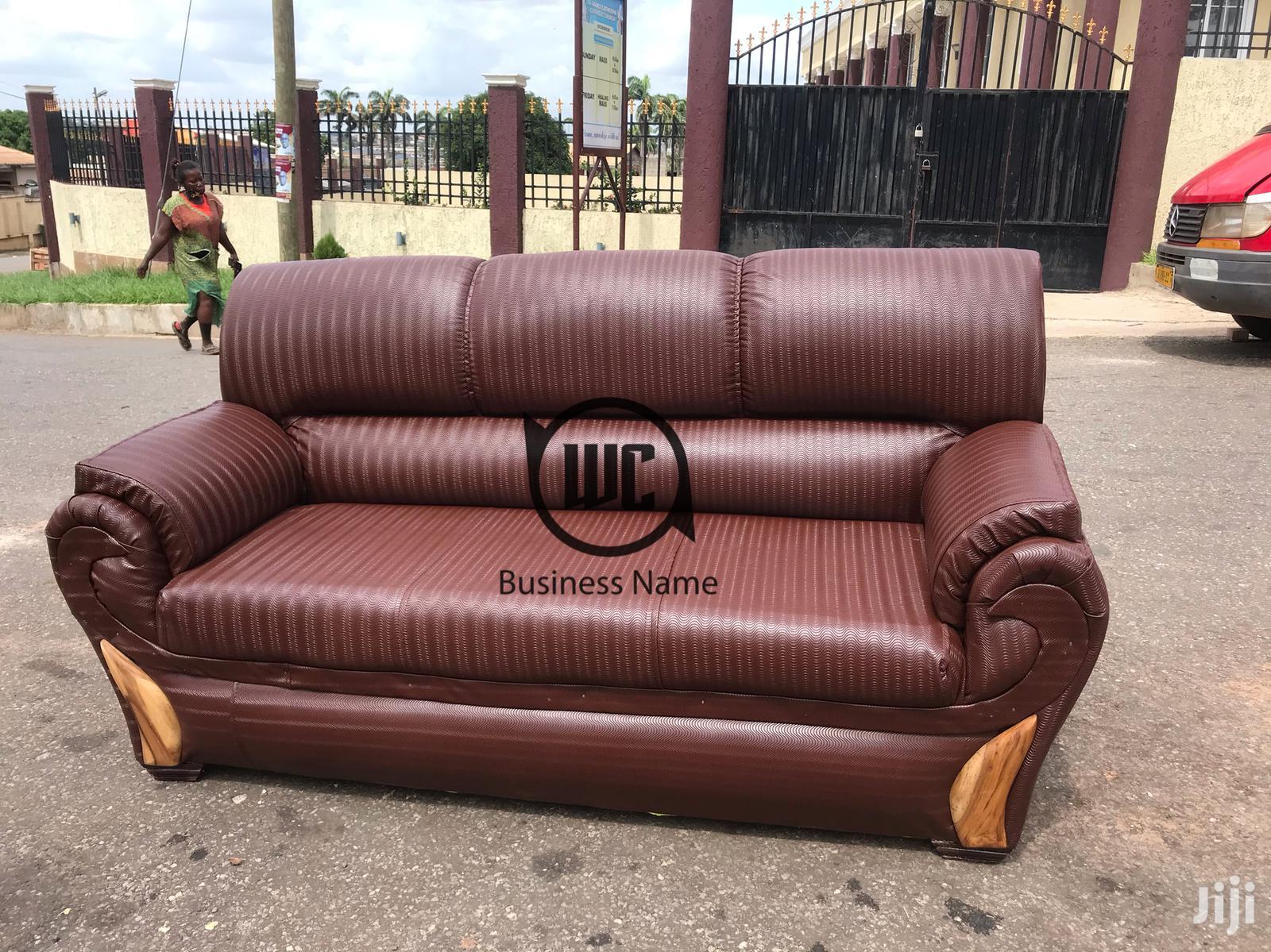 Leather Room Sofa Set | Furniture for sale in Kumasi Metropolitan, Ashanti, Ghana