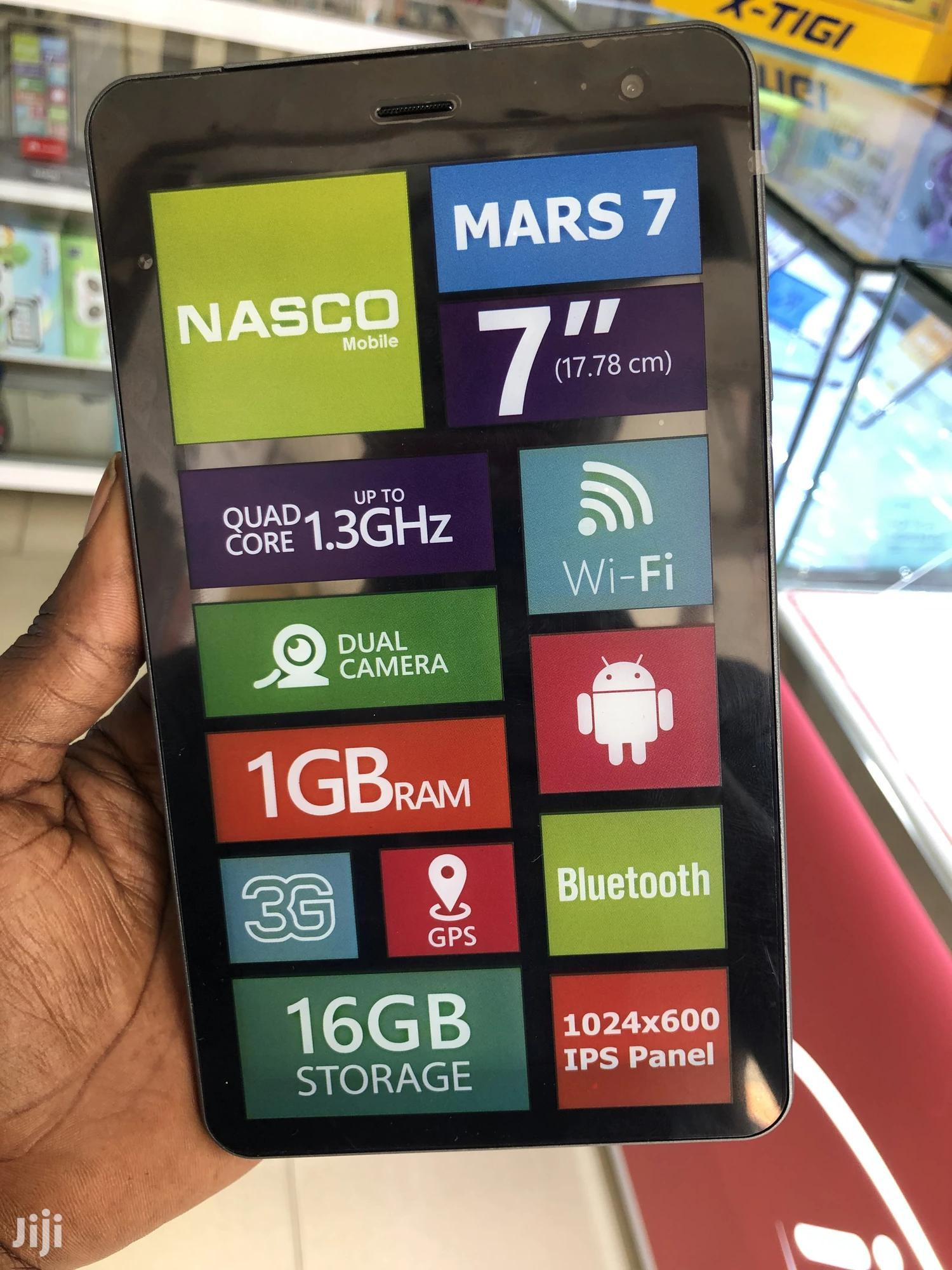New Nasco Mars 7 16 GB Blue | Tablets for sale in Adabraka, Greater Accra, Ghana