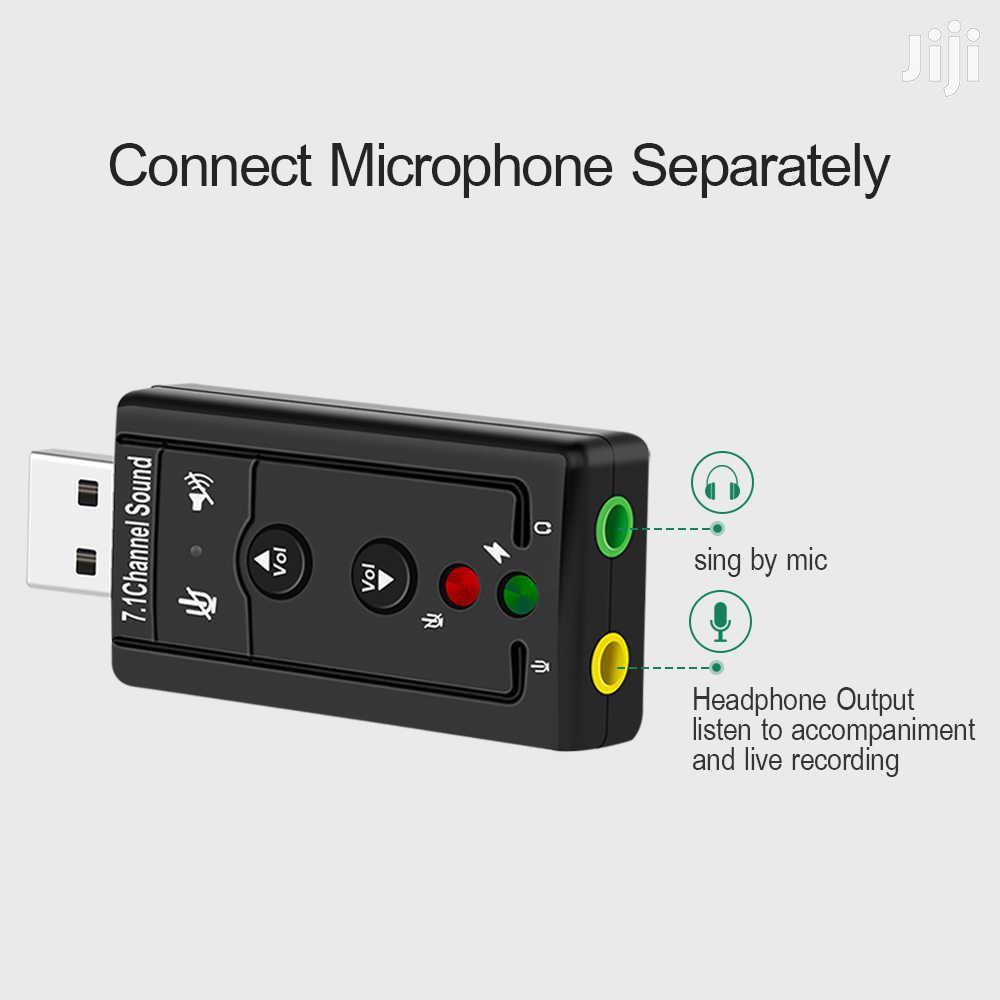 Usb Sound Adaptor