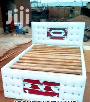 Quality Double Bed White And Red
