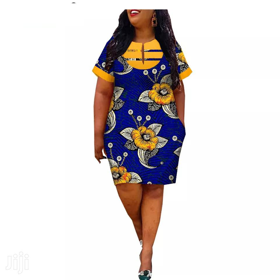 Marvelous Short Sleeves Ladies Dress | Clothing for sale in Madina, Greater Accra, Ghana