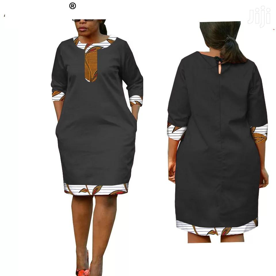 Marvelous 3/4 Sleeves Ladies Dress | Clothing for sale in Ga East Municipal, Greater Accra, Ghana