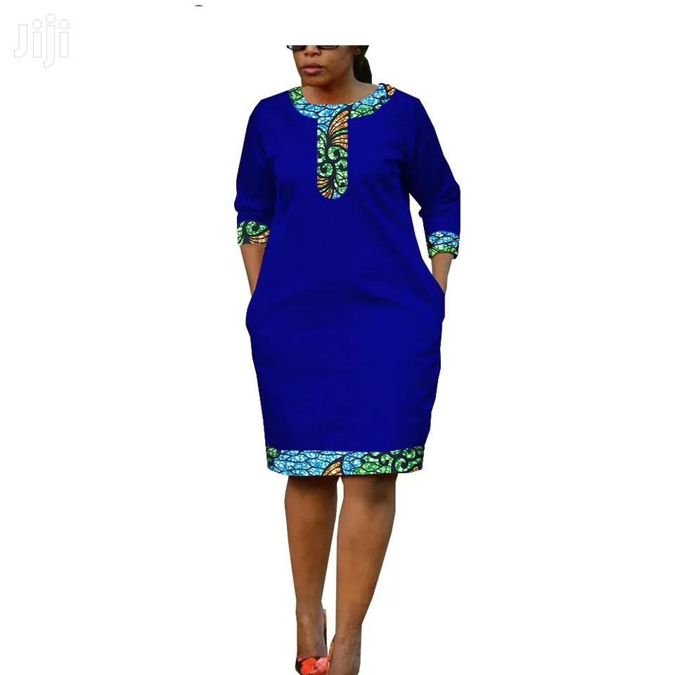Marvelous 3/4 Sleeves Ladies Dress