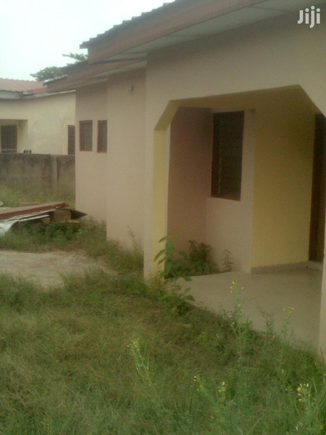 2 Bedroom Self Compound for Rent at Oyibi