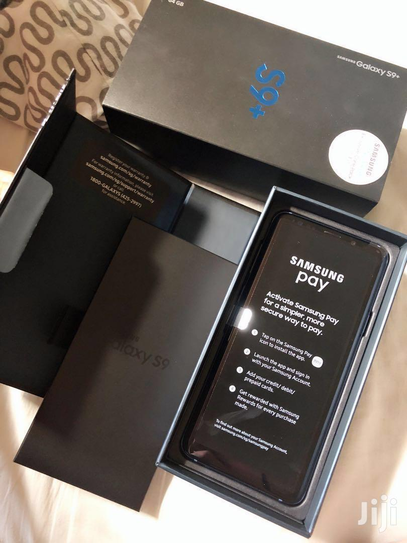 New Samsung Galaxy S9 Plus 64 GB Black   Mobile Phones for sale in Adenta Municipal, Greater Accra, Ghana