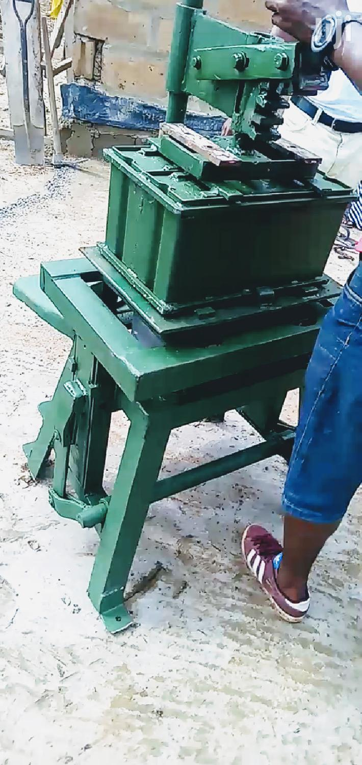 BLOCK Machine,5/6 Hollow Solid Double Blocks(WHOLE SALE) | Manufacturing Equipment for sale in Ga West Municipal, Greater Accra, Ghana