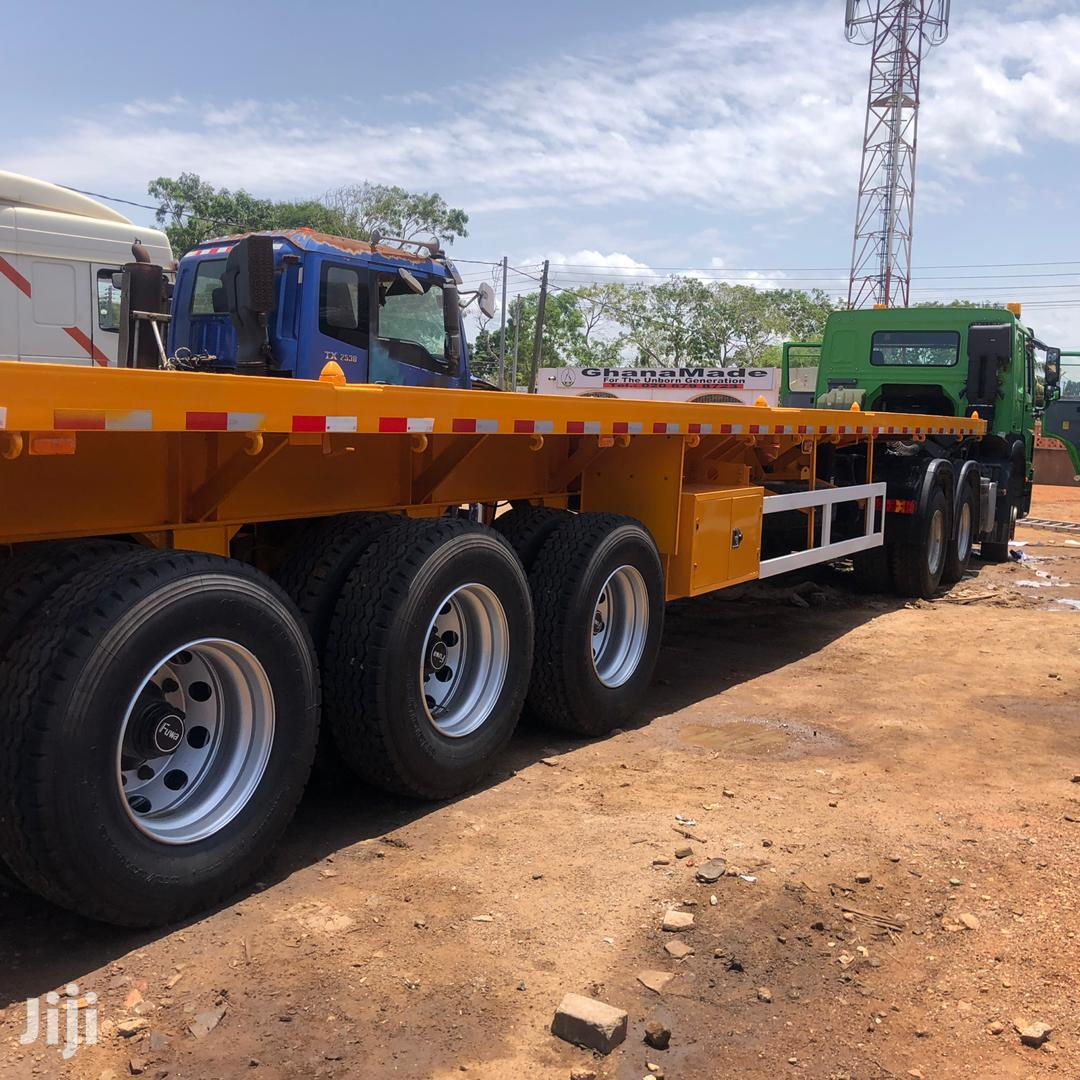 Archive: Brand New Flatbed Trailer for Sale