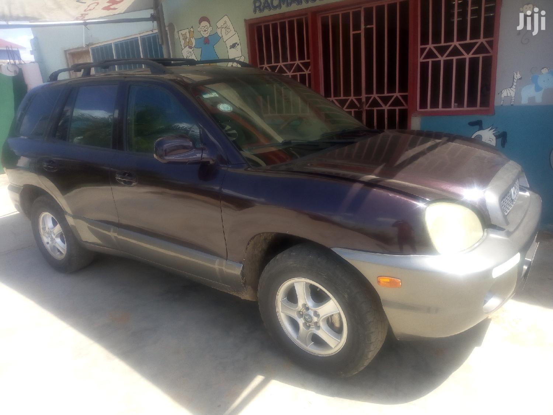 Archive: Hyundai Santa Fe 2005 2.4 Brown