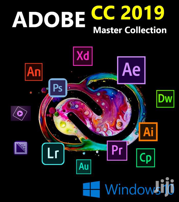 Adobe Master Collection CC 2019 Mac/Win