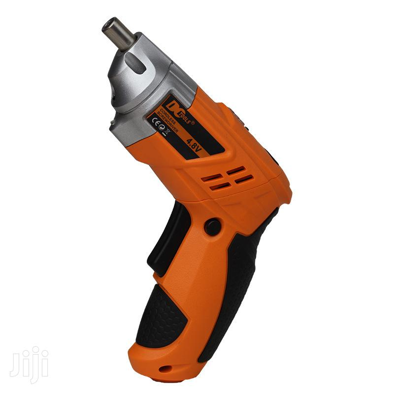 Archive: 4.8V Electric Screwdriver, Rechargeable Drill Tools Set