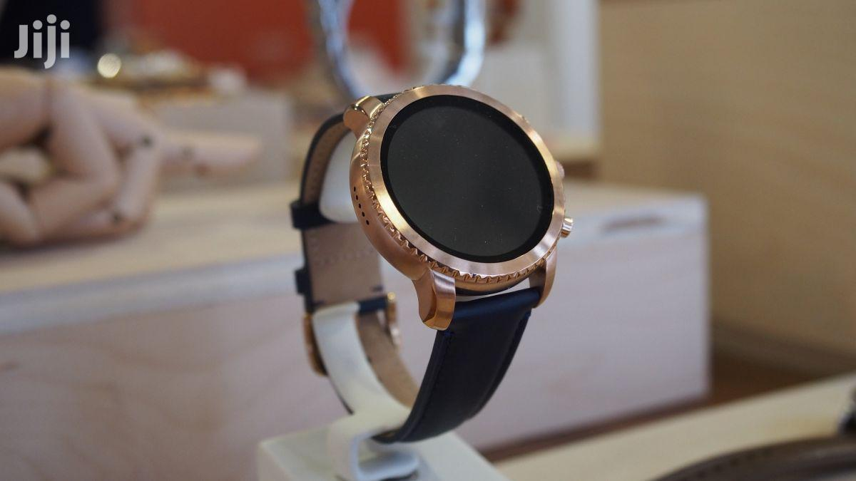 Fossil Touch Watch Gold