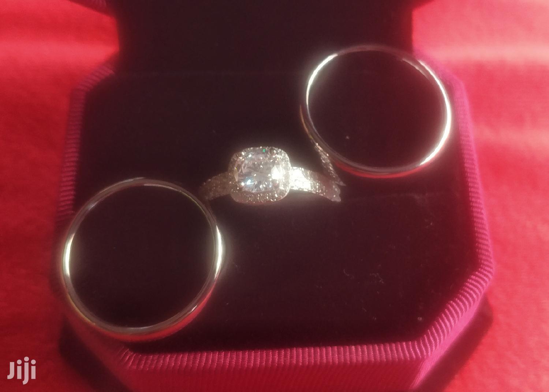 Archive: White Gold Wedding Ring 3 Set