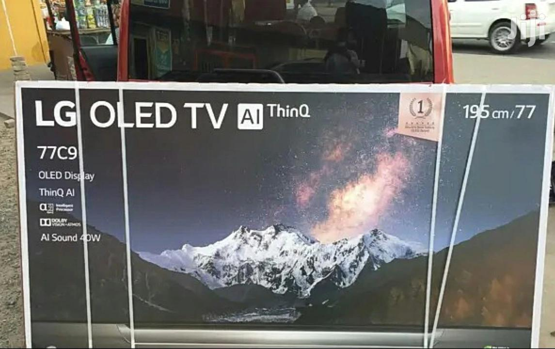 """LG C9 Series Smart OLED - 77"""" 4K Ultra HD With Alexa Built-in 2019"""