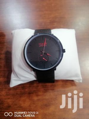 Black Flat Stainless North Quartz Watch