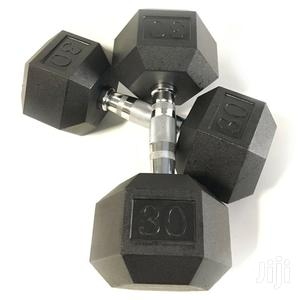 Dumbbells Pair Set Of 2 (60KG)   Sports Equipment for sale in Greater Accra, Achimota