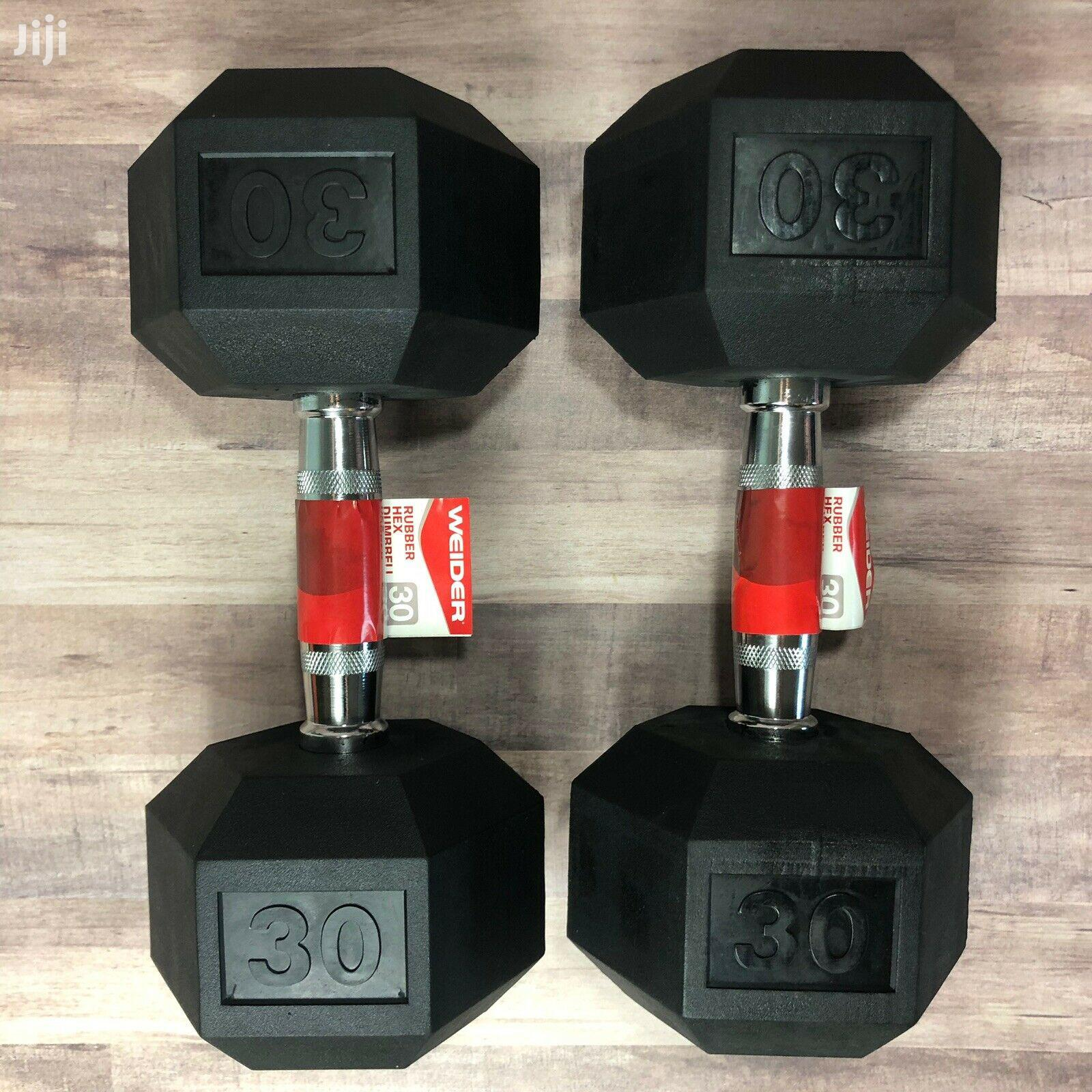 Dumbbells Pair Set Of 2 (60KG) | Sports Equipment for sale in Achimota, Greater Accra, Ghana