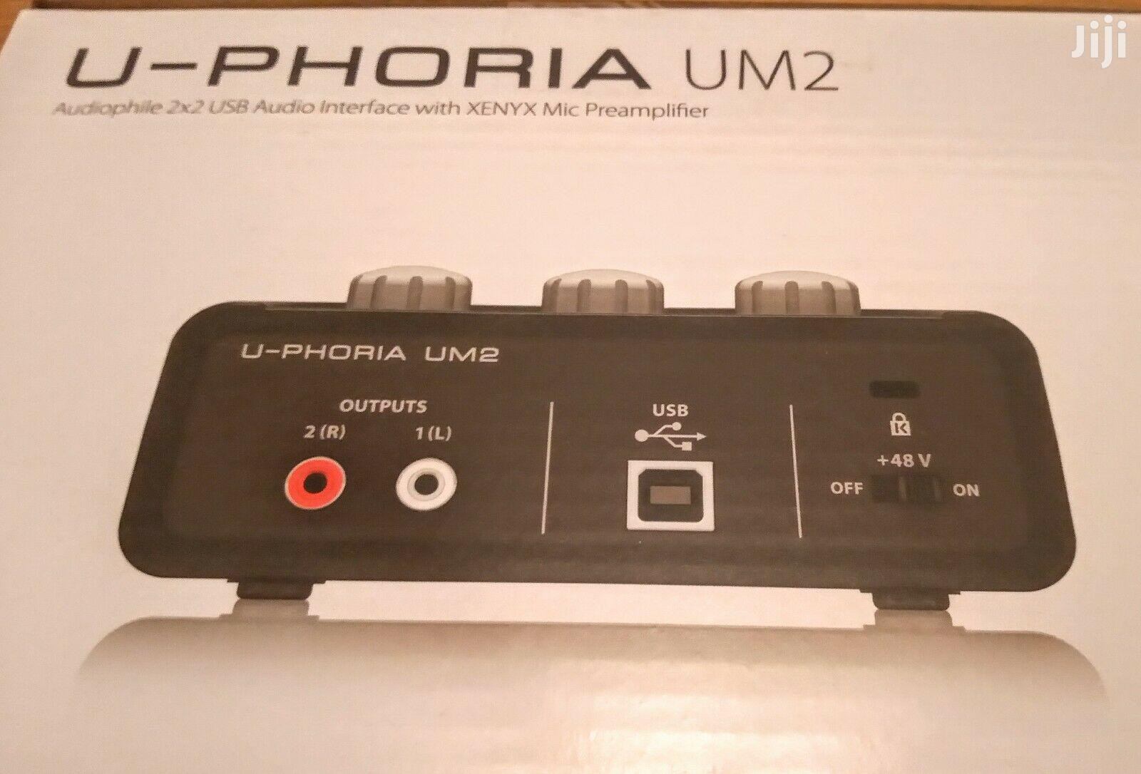Behringer Uphoria UM2 Audio Interface | Audio & Music Equipment for sale in Tesano, Greater Accra, Ghana