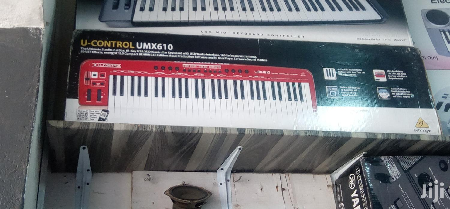 Behringer USB/MIDI Controller Keyboard/Audio Interface | Musical Instruments & Gear for sale in Accra Metropolitan, Greater Accra, Ghana