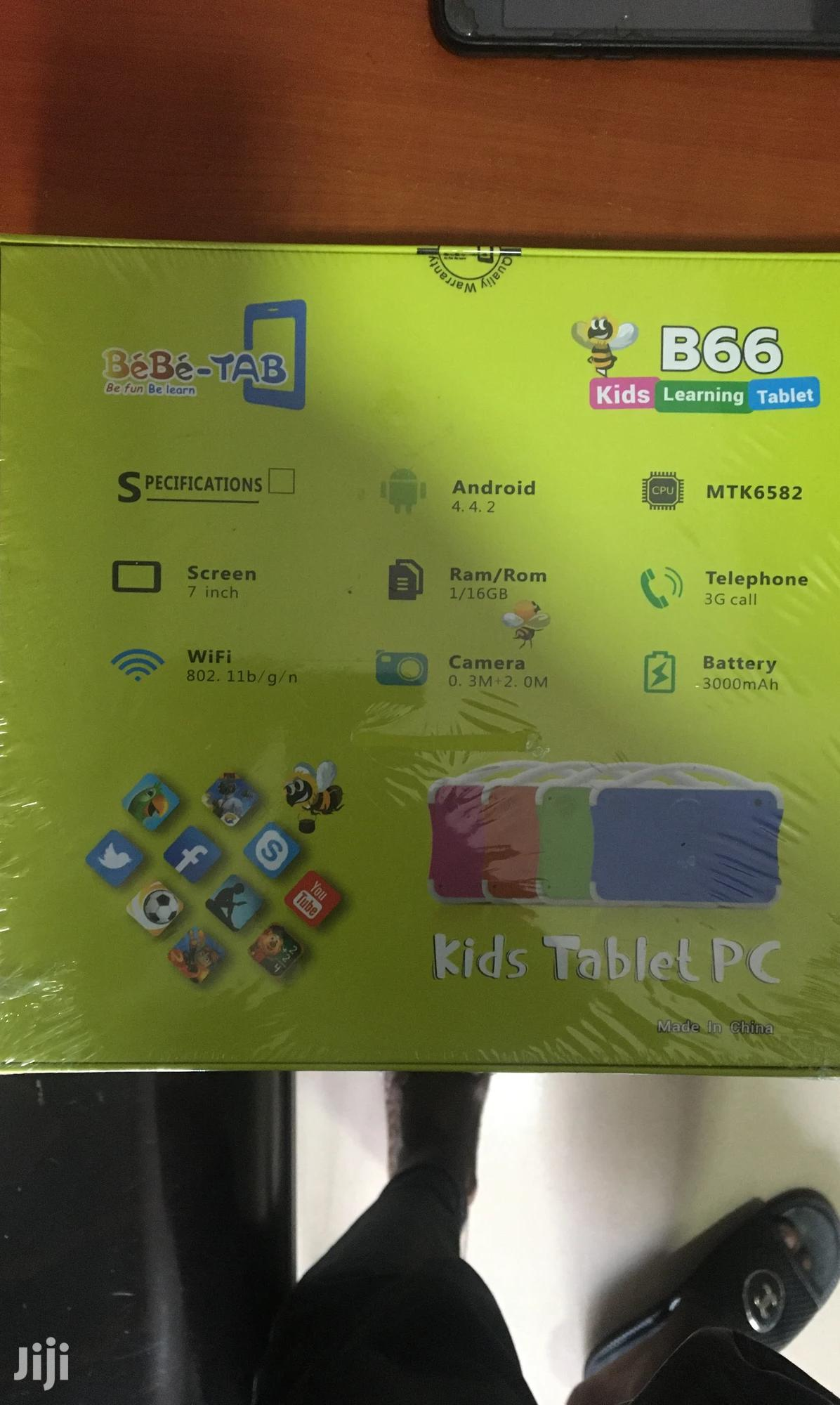 New Bebe-tab B66 16 GB Blue | Toys for sale in Kokomlemle, Greater Accra, Ghana