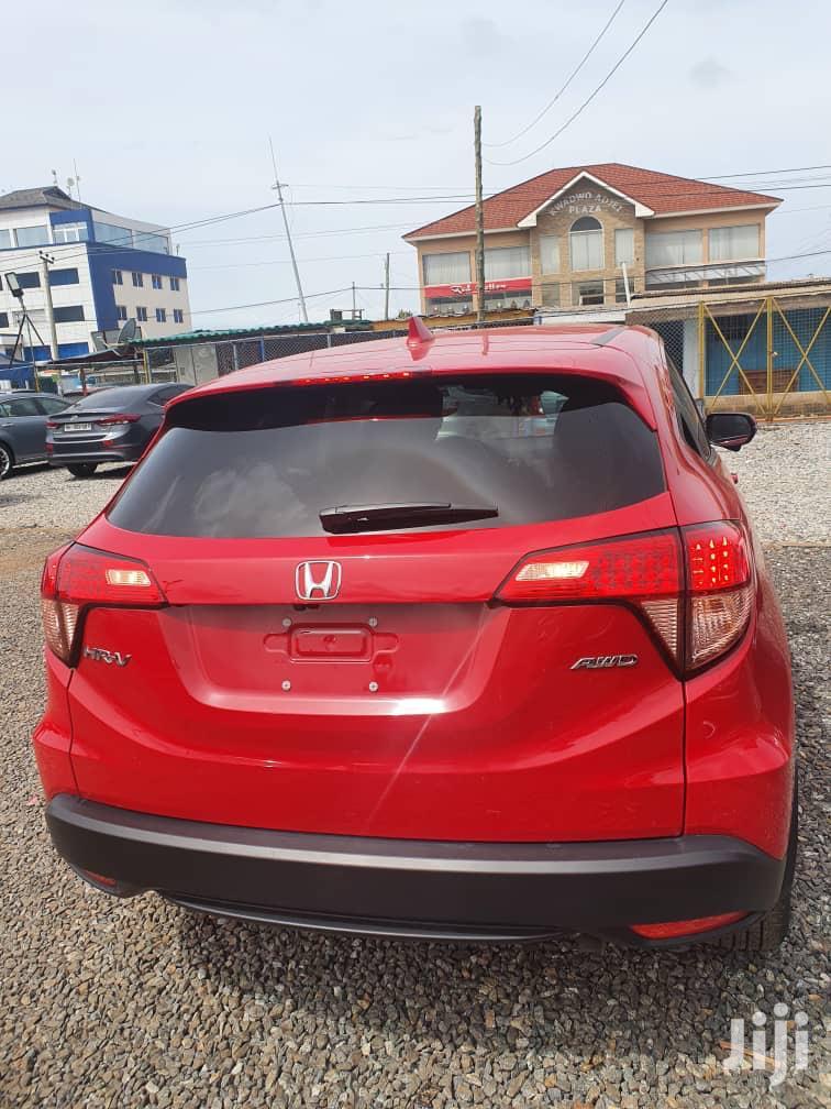 Archive: Honda HR-V 2018 Red