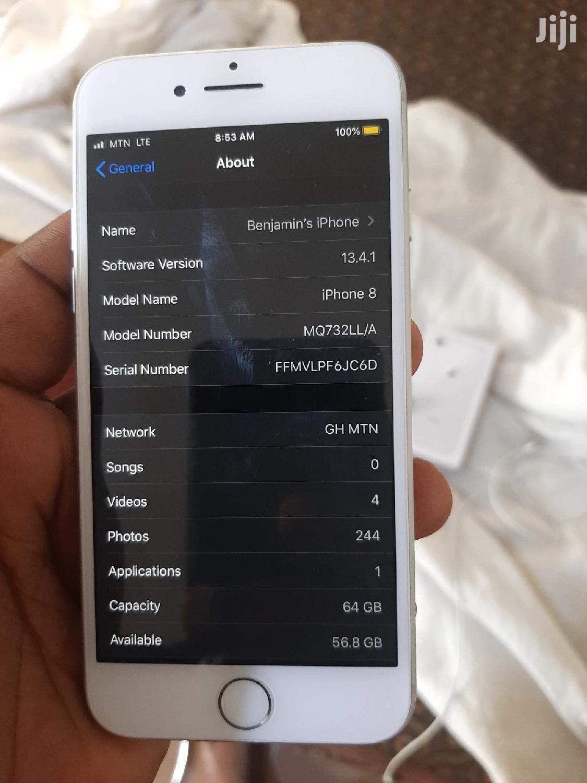 Apple iPhone 8 64 GB White | Mobile Phones for sale in Afigya-Kwabre, Ashanti, Ghana