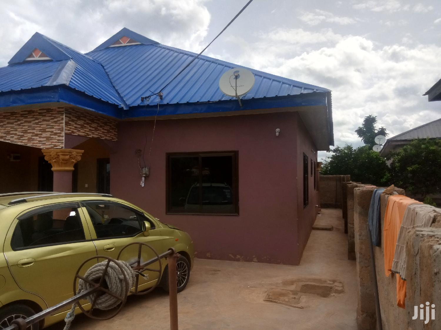 3 Bedroom Bungalow With Spacious Compound And Shop | Houses & Apartments For Sale for sale in Obuasi Municipal, Ashanti, Ghana