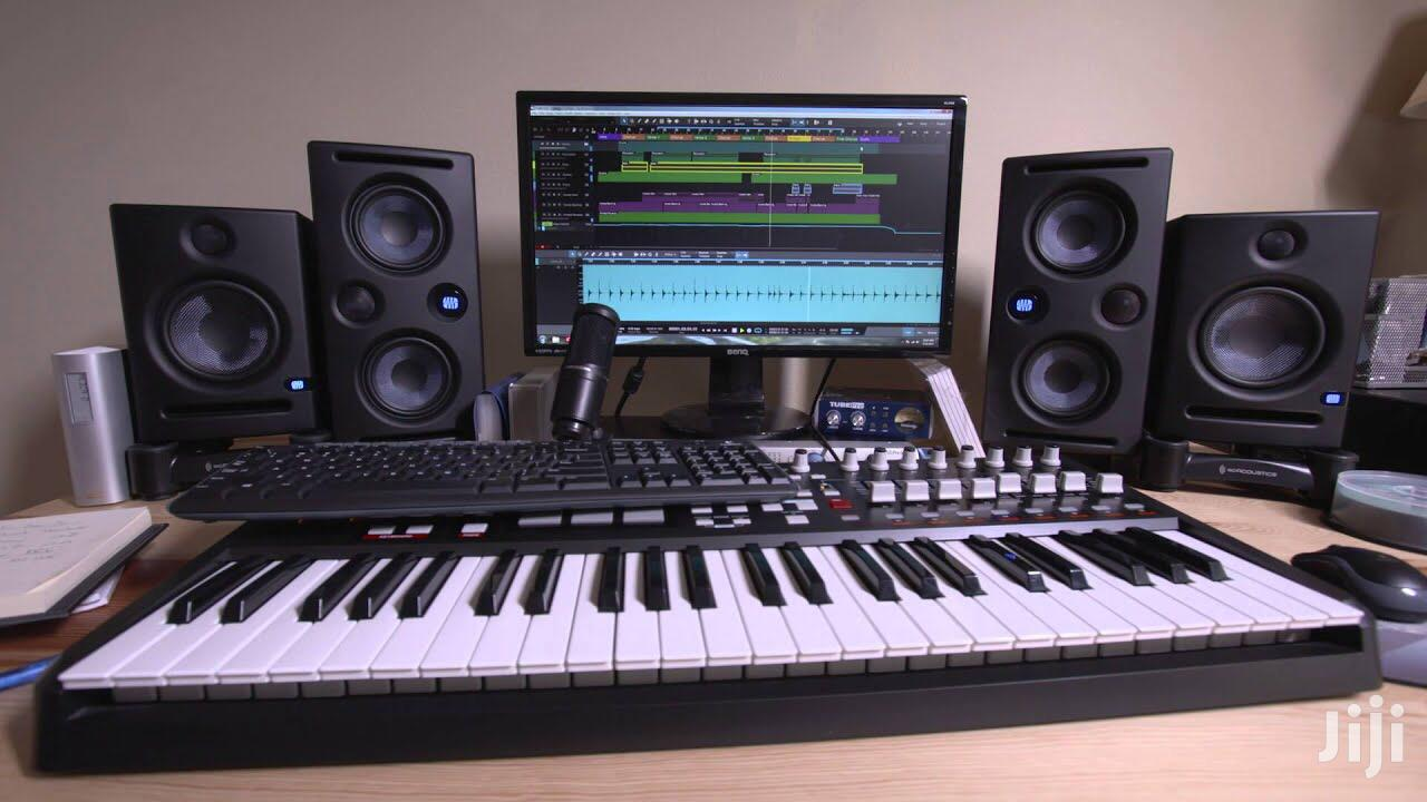 Studio Session Mixing and Mastering