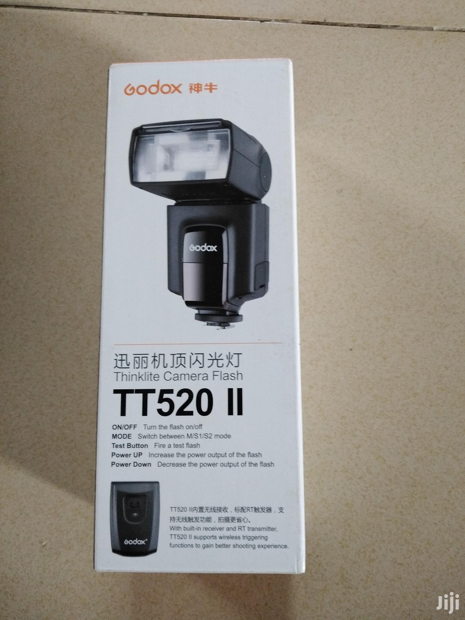 Speed Flashlight Godox TT520 II With Trigger
