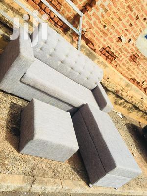 L Sofa Gray | Furniture for sale in Ashanti, Kumasi Metropolitan