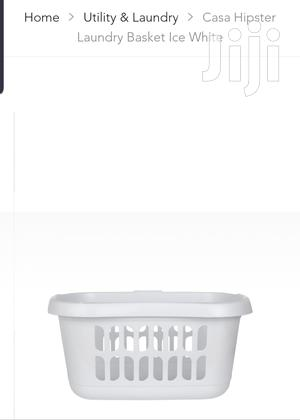 White Laundry Basket | Kitchen & Dining for sale in Greater Accra, Accra Metropolitan
