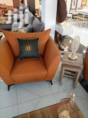 Sofa Set Dark Orange