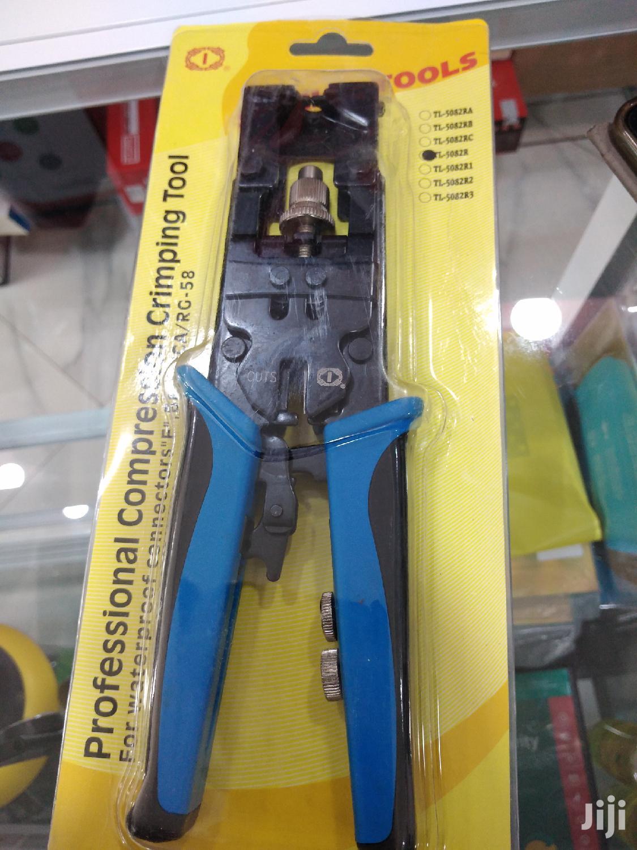 Bnc Crimping Tool RG59/RG58/RG6 BNC/RCA/F