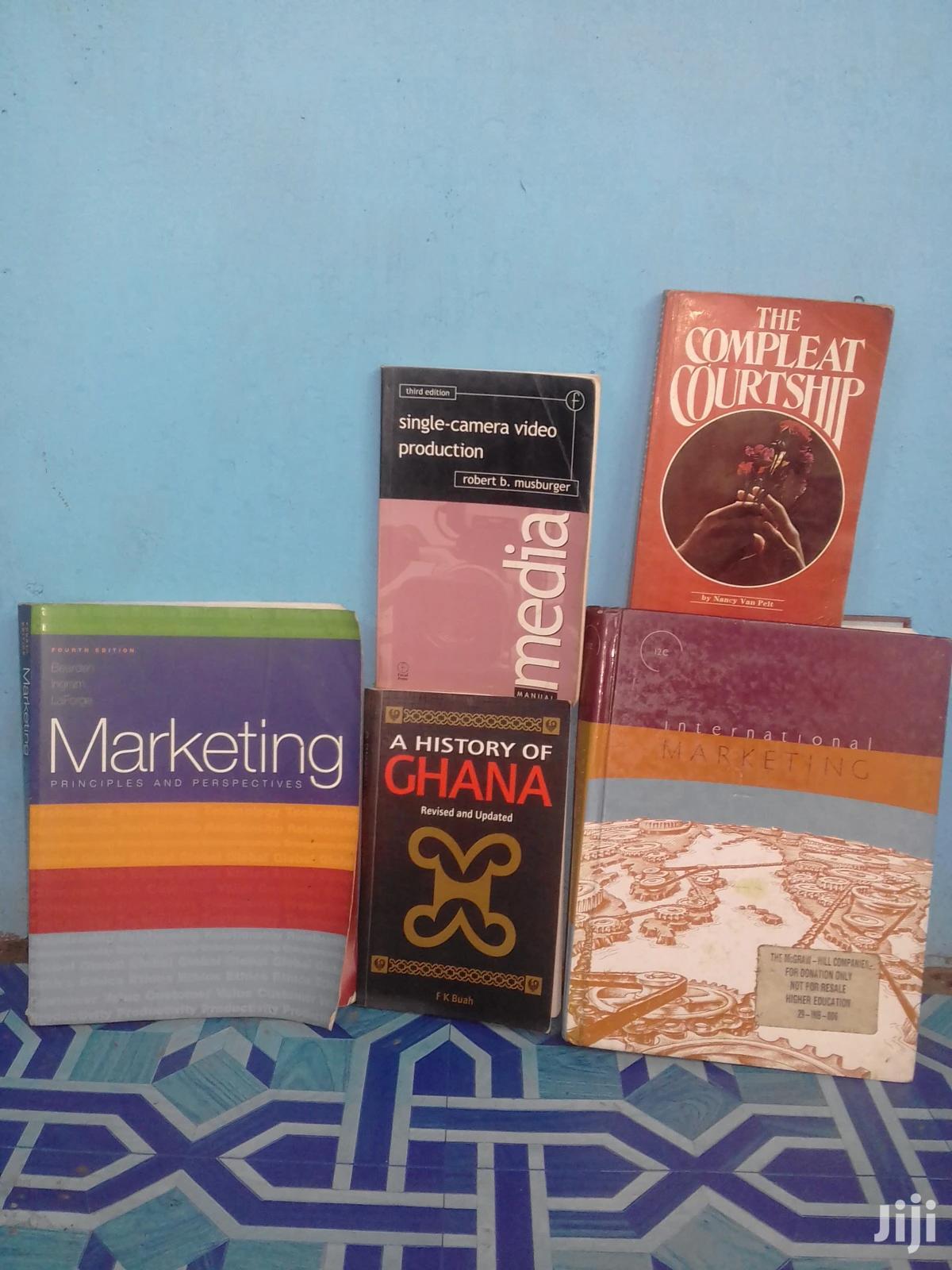Books On Marketing Etc.