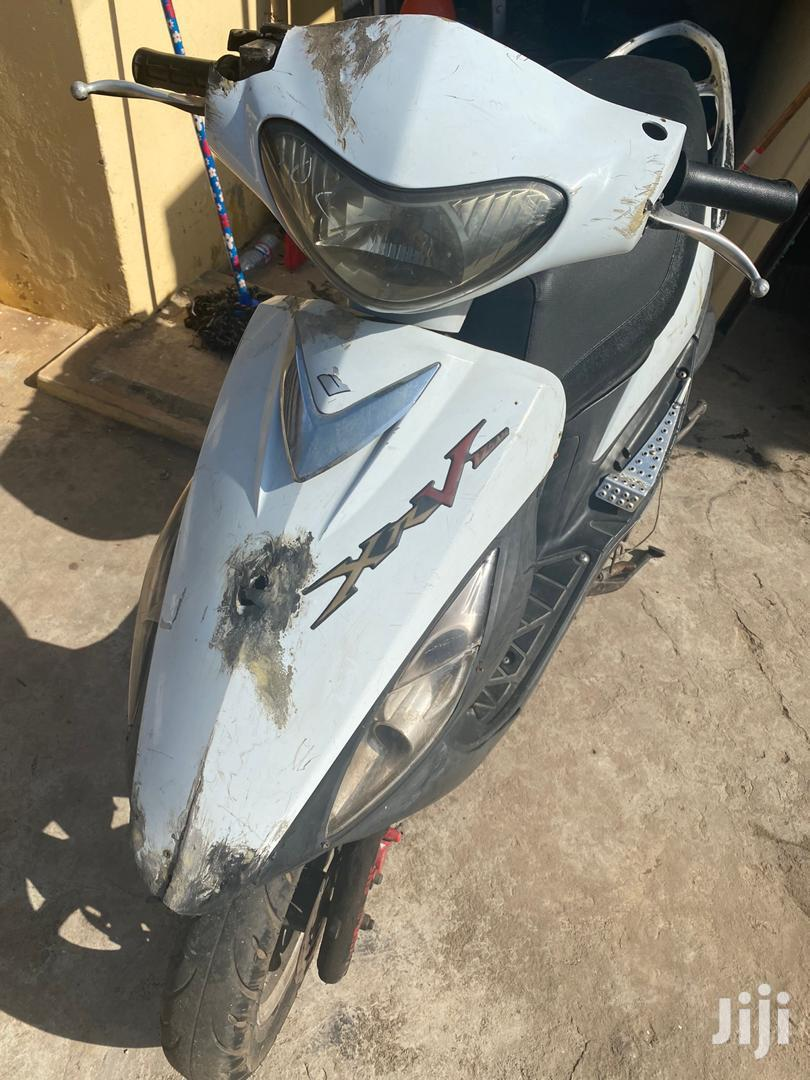 Suzuki 2017 White | Motorcycles & Scooters for sale in Darkuman, Greater Accra, Ghana