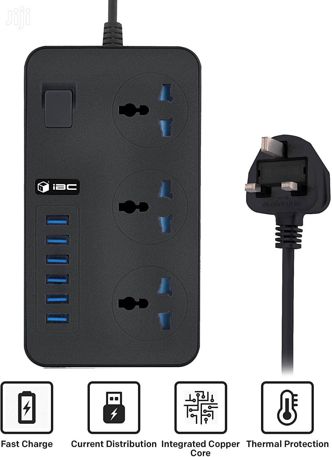 Extension Board With Usb | Home Appliances for sale in Dzorwulu, Greater Accra, Ghana