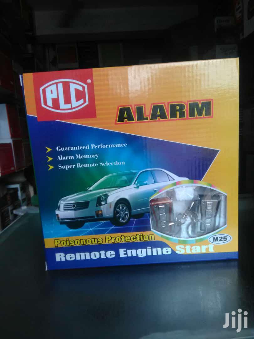 PLC Alarm, Engine Start Remote