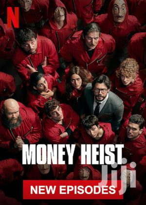 Money Heist (TV Series 2017– 2020 )   CDs & DVDs for sale in Greater Accra, Achimota