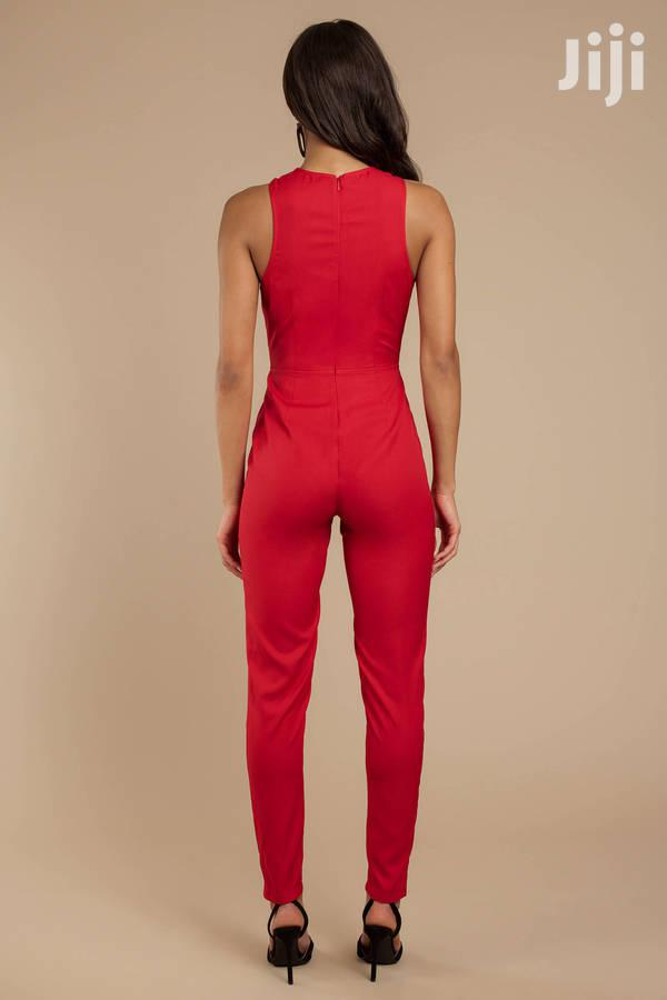 Aurora Red Jumpsuit | Clothing for sale in Achimota, Greater Accra, Ghana