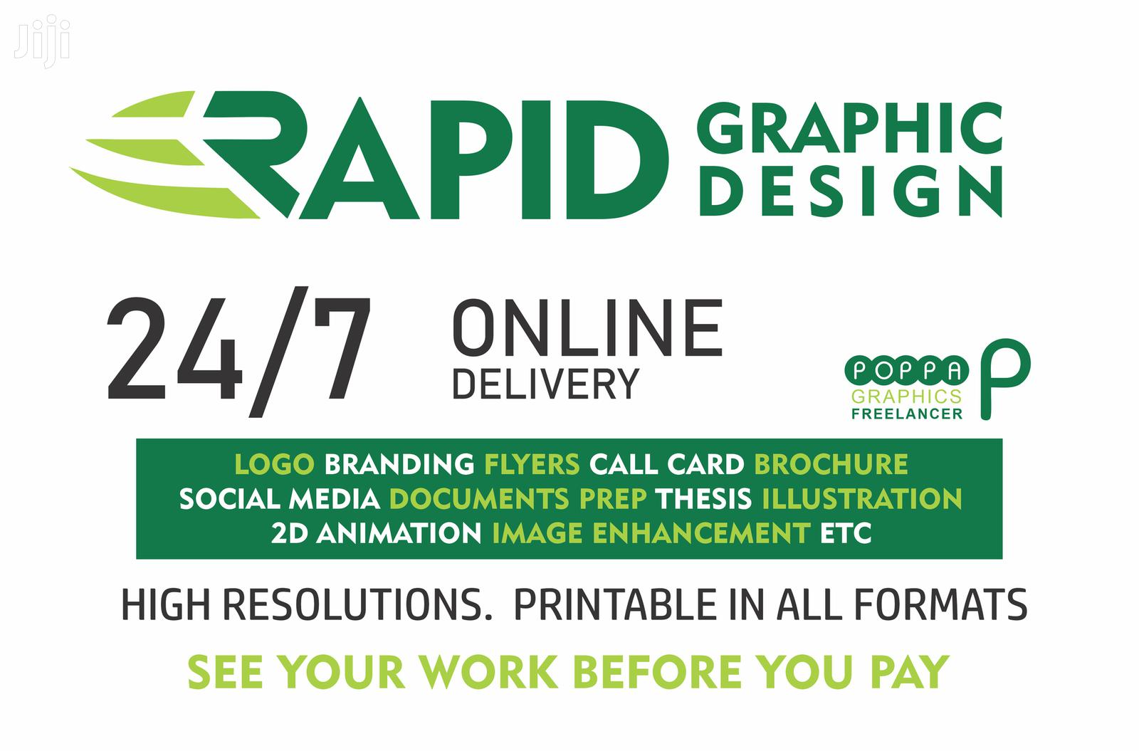 Graphic Design | Computer & IT Services for sale in Accra Metropolitan, Greater Accra, Ghana