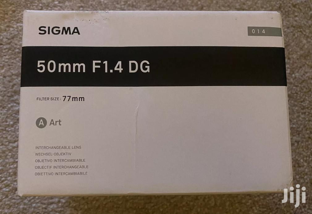 Sigma 50mm F/1.4 DG HSM Art Lens | Accessories & Supplies for Electronics for sale in East Legon, Greater Accra, Ghana