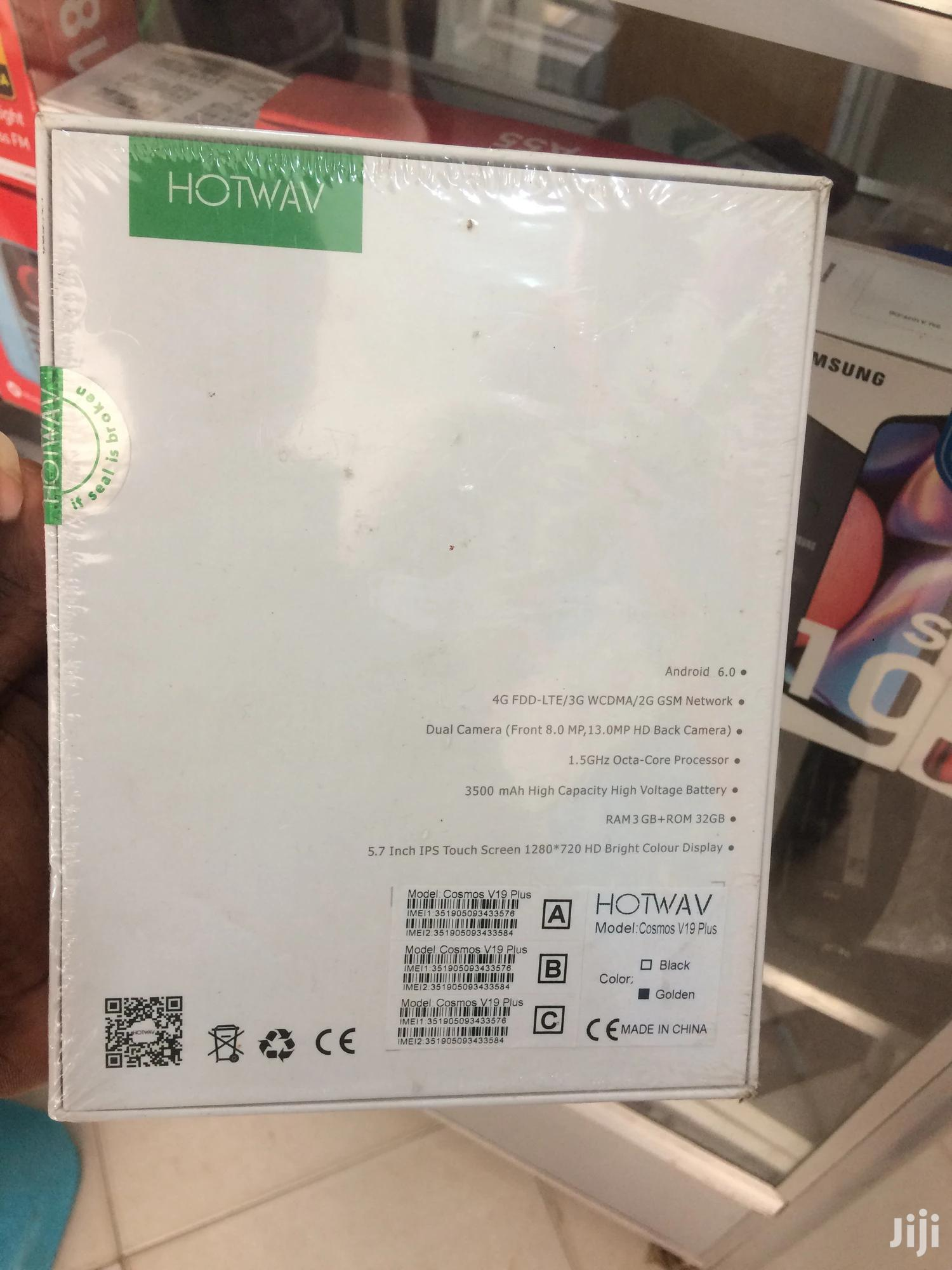 New Hotwav Cosmos V19 Gold | Mobile Phones for sale in North Kaneshie, Greater Accra, Ghana