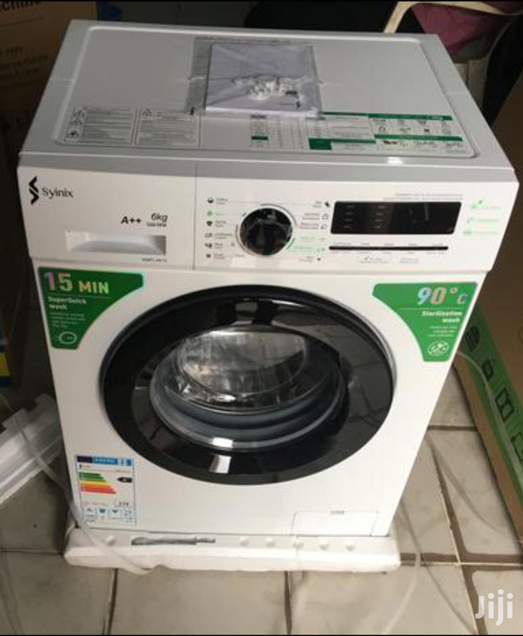 Archive: Syinix Front Load 6kg Full Automatic Washing Machine