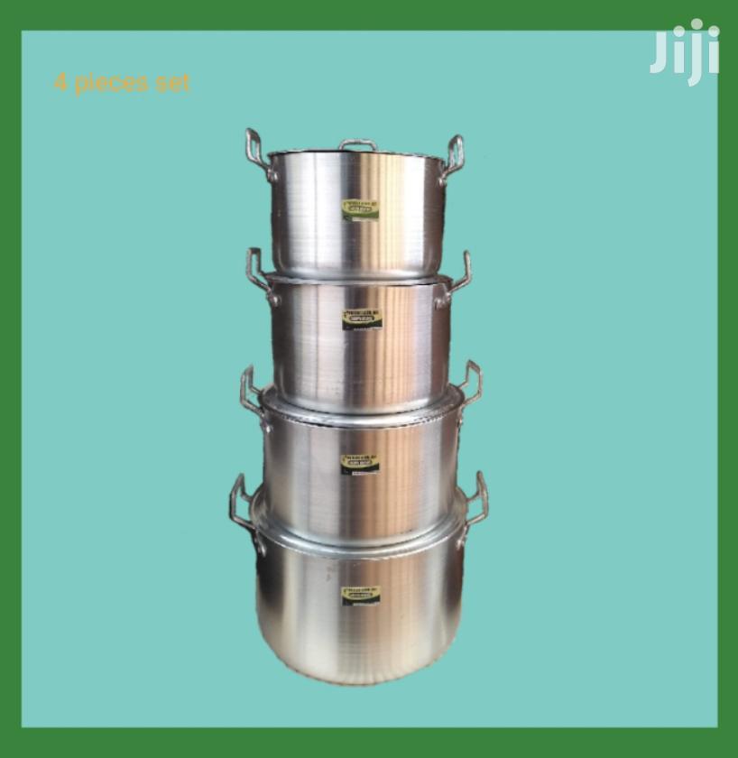 Archive: Adepa 4 Pieces Set of Aluminium Cooking Utensils