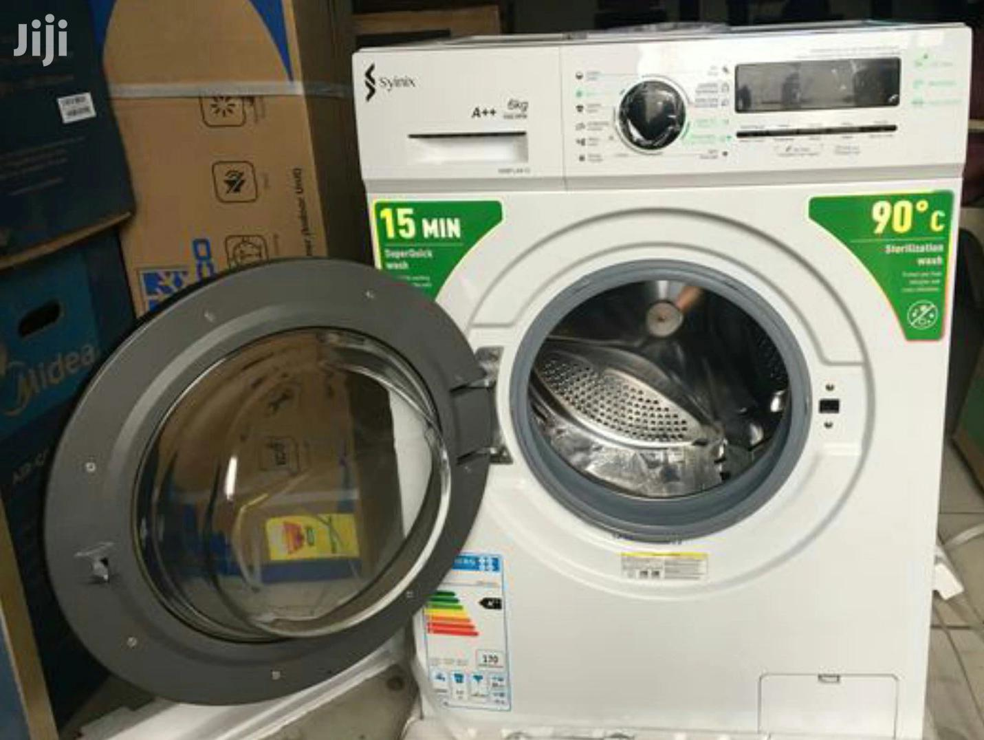 The Brand Syinix 6kg Front Load Full Automatic Washing