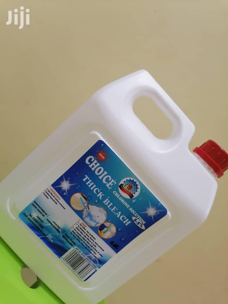 Archive: Choice Bleach (5.5% Chlorine Solution)