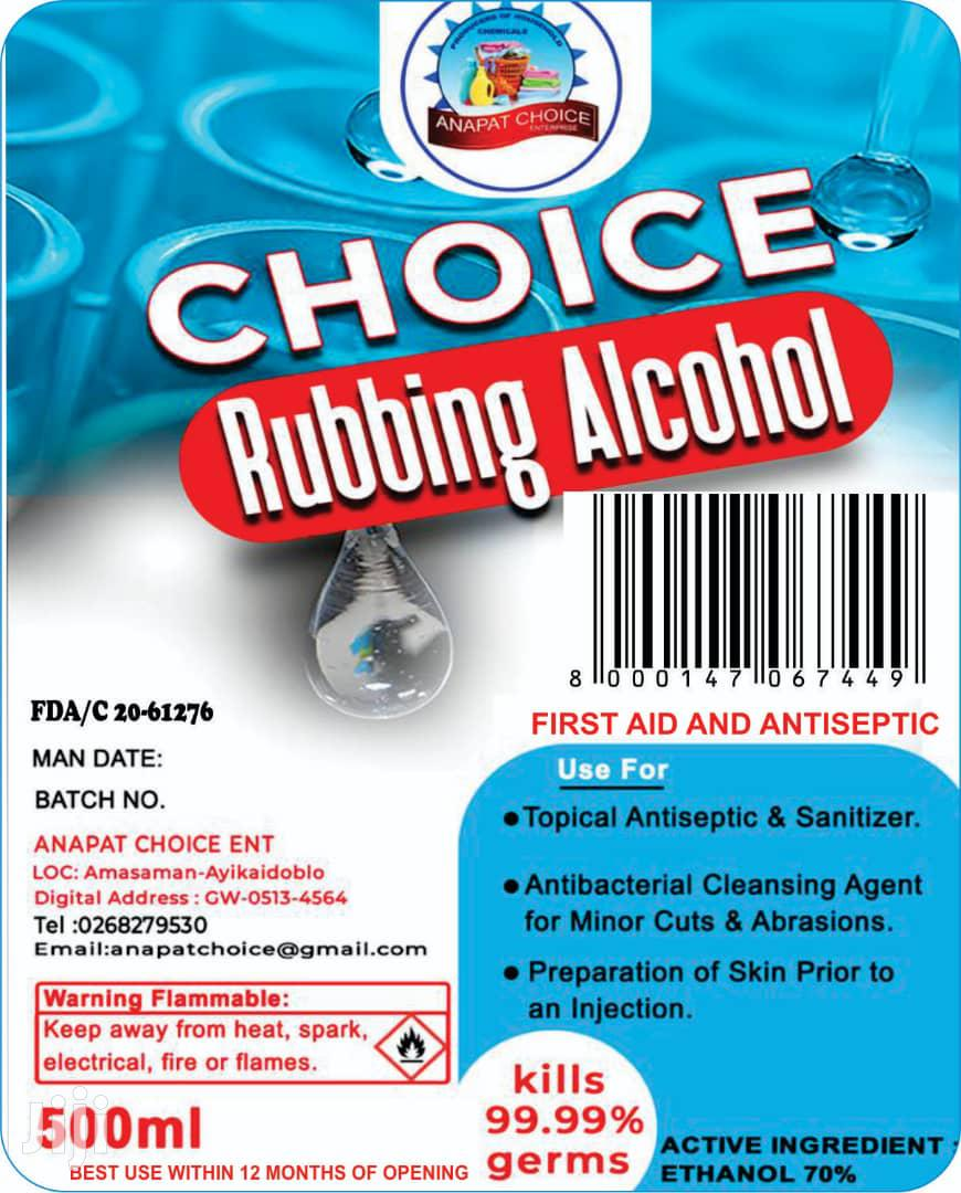 Archive: Choice Rubbing Alcohol